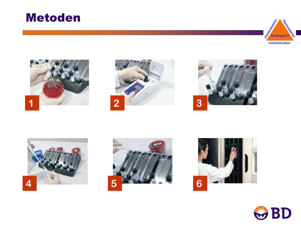 BD EpiCenter TM & BDXpert TM BDXpert TM systemet: Innehåller brytpunkter samt mer än 600 regler för tolkning av bl.a.