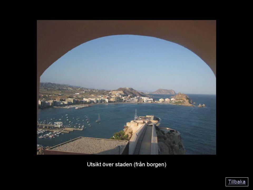 Tillbaka Utsikt över staden (från borgen)