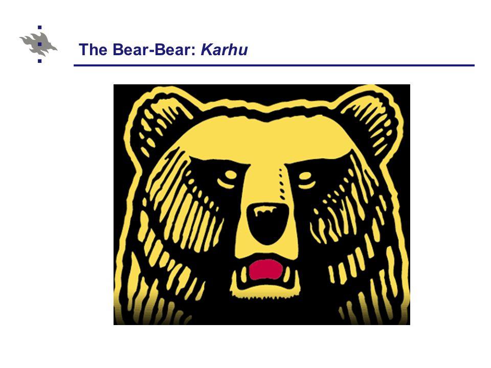 The Bear-Bear: Karhu