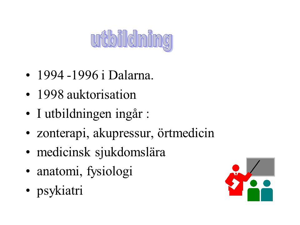 1994 -1996 i Dalarna.
