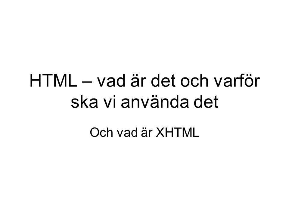 EXEMPEL Om du börjar titta på HTML-sidor med dina nya kunskaper kommer du att hitta många konstruktioner som bygger på frames.