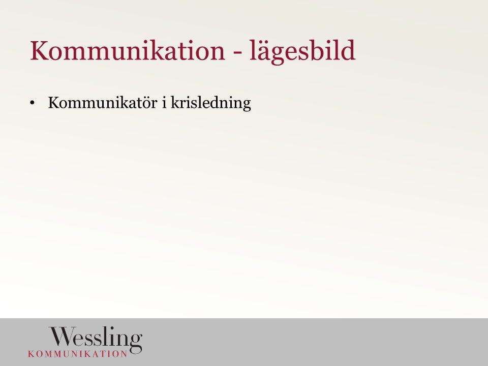 Kommunikatör i krisledning