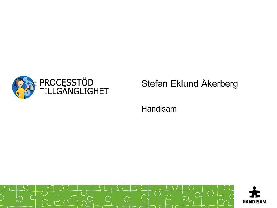 Stefan Eklund Åkerberg Handisam