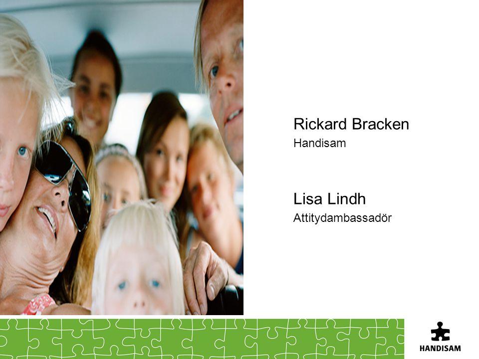 Rickard Bracken Handisam Lisa Lindh Attitydambassadör