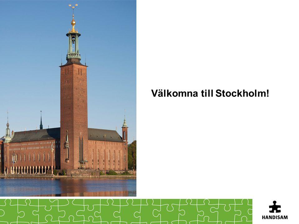 Välkomna till Stockholm!