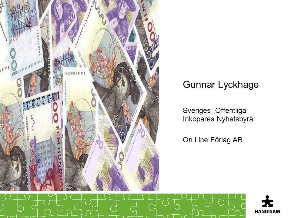 Gunnar Lyckhage Sveriges Offentliga Inköpares Nyhetsbyrå On Line Förlag AB