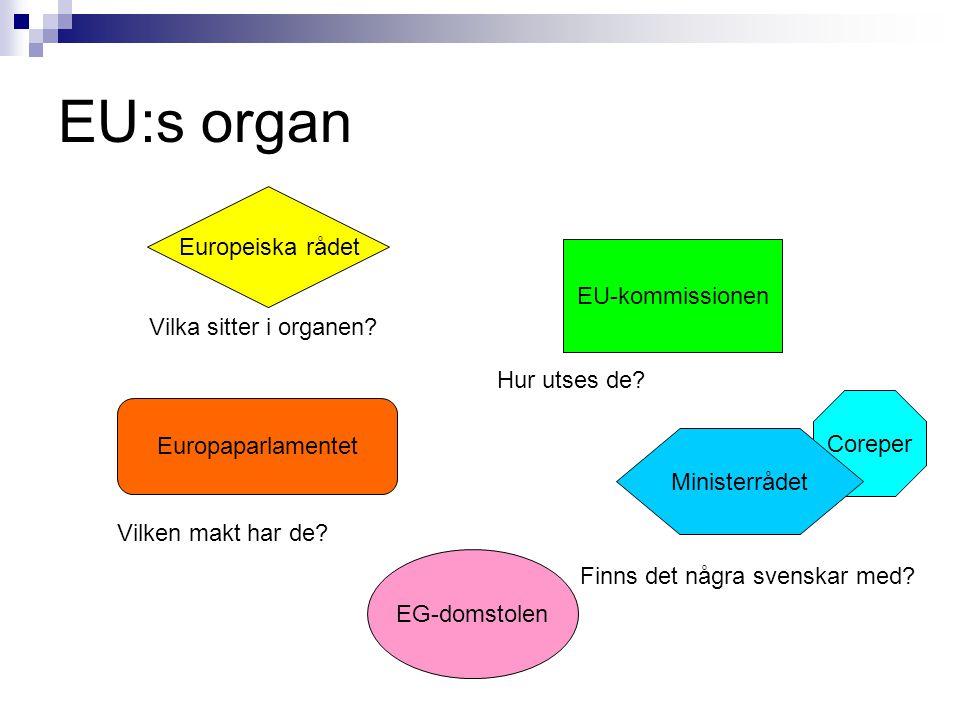 Hur utses organen.