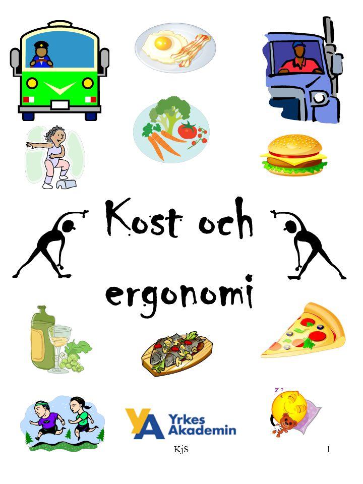 KjS1 Kost och ergonomi