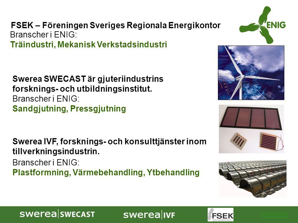 2009-10-08  Drivkraften för ENIG är att hjälpa främst mindre och medelstora företag att utveckla och implementera hållbara strategier kring energianvändningen minska företagens specifika energianvändning uthålligt minska verksamheternas klimatpåverkande utsläpp