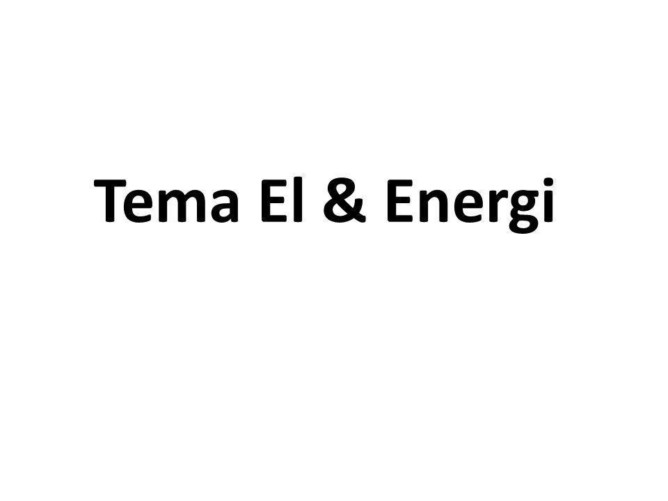 Tema El & Energi