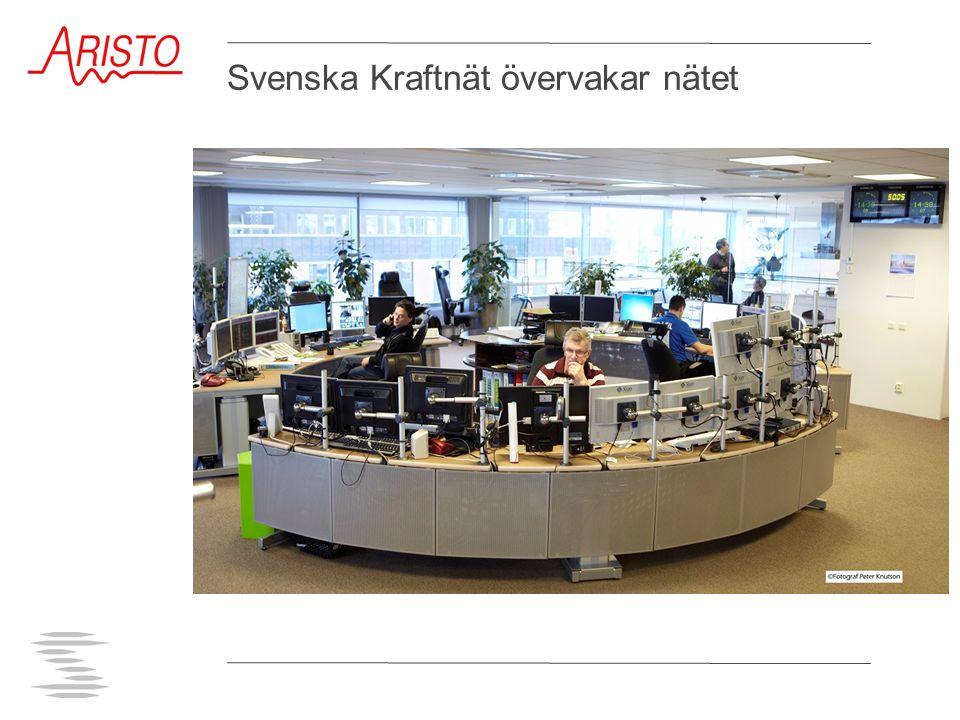 Svenska Kraftnät övervakar nätet