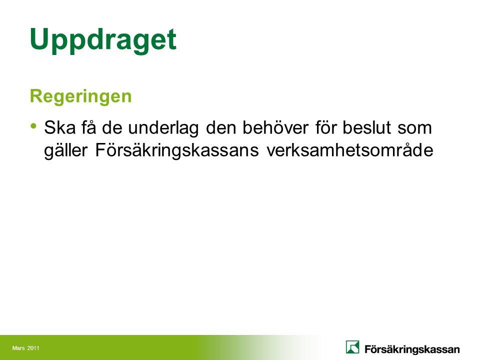 Mars 2011 socialförsäkringen@internet www.forsakringskassan.se www.pensionsmyndigheten.se www.minpension.se