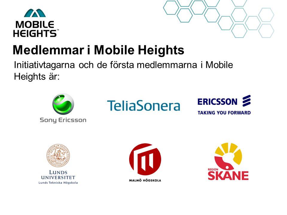 OWN LOGO Medlemmar i Mobile Heights Initiativtagarna och de första medlemmarna i Mobile Heights är: