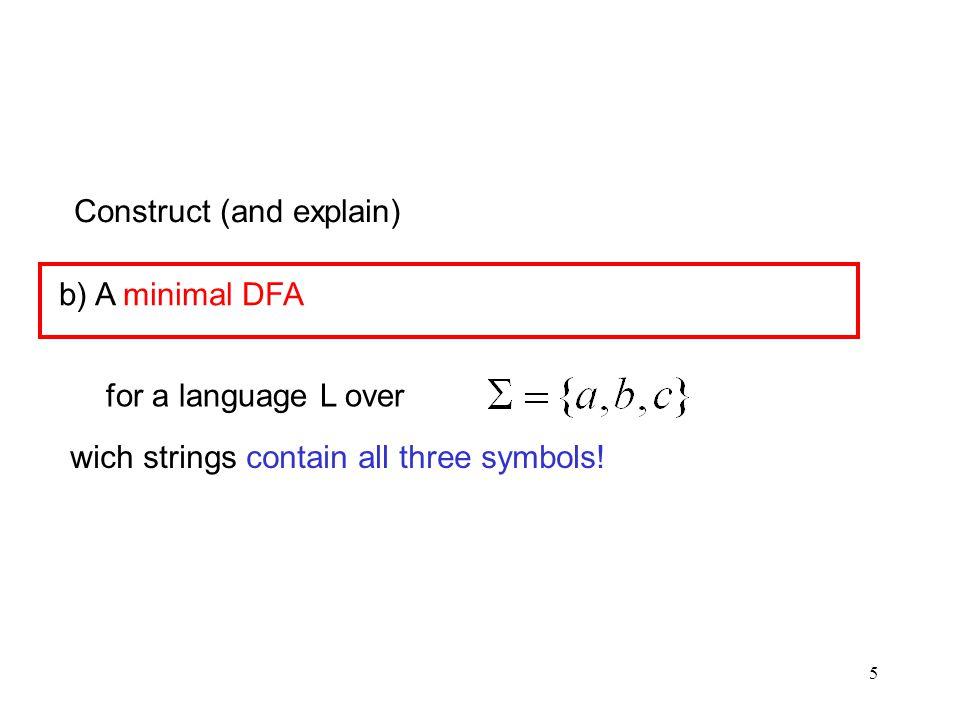 26 Partitioning Algorithm a b I III I *II IVV III I II IV V II Here they are: V a a a a a b b b b b b