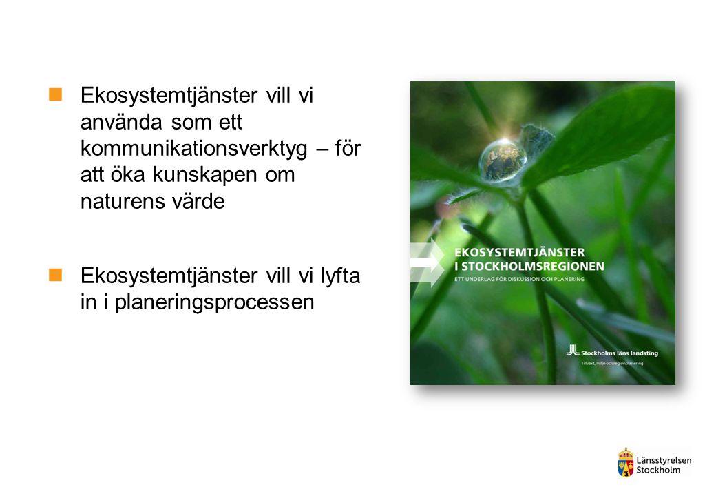 Medborgarundersökningen 2013 Är närhet till natur, grönområden och parker viktigt.