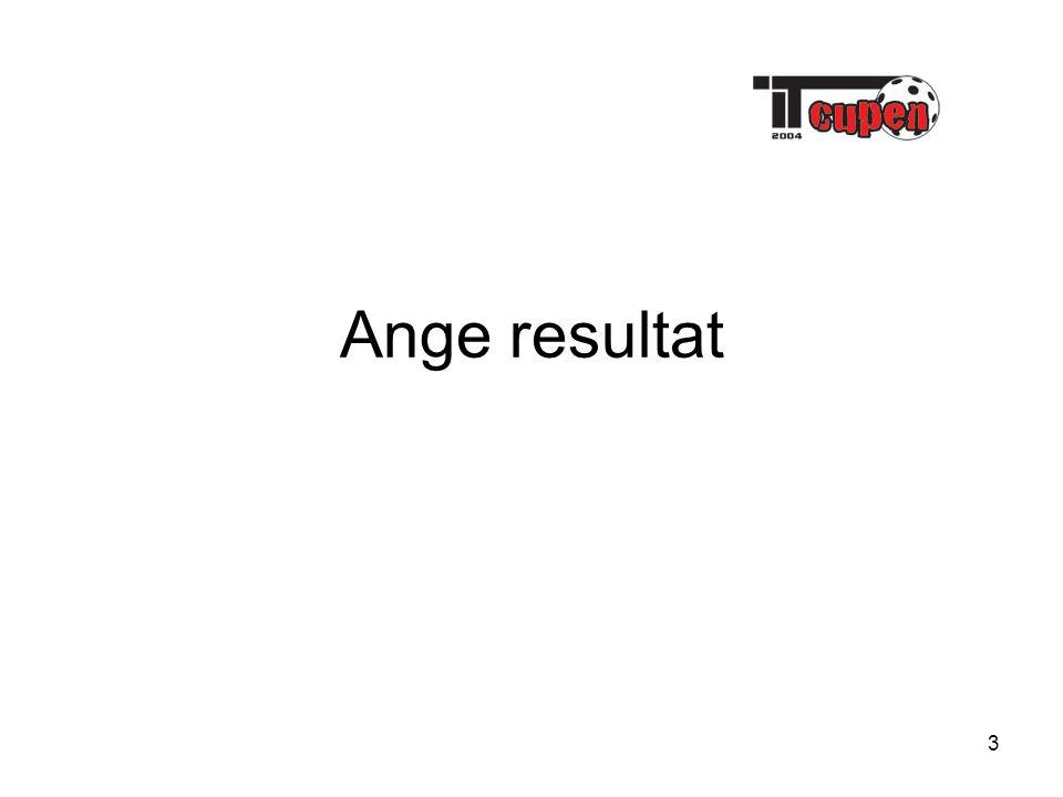 3 Ange resultat