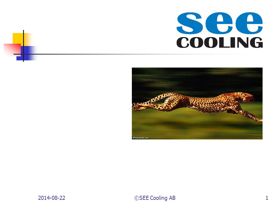 2014-08-22©SEE Cooling AB1