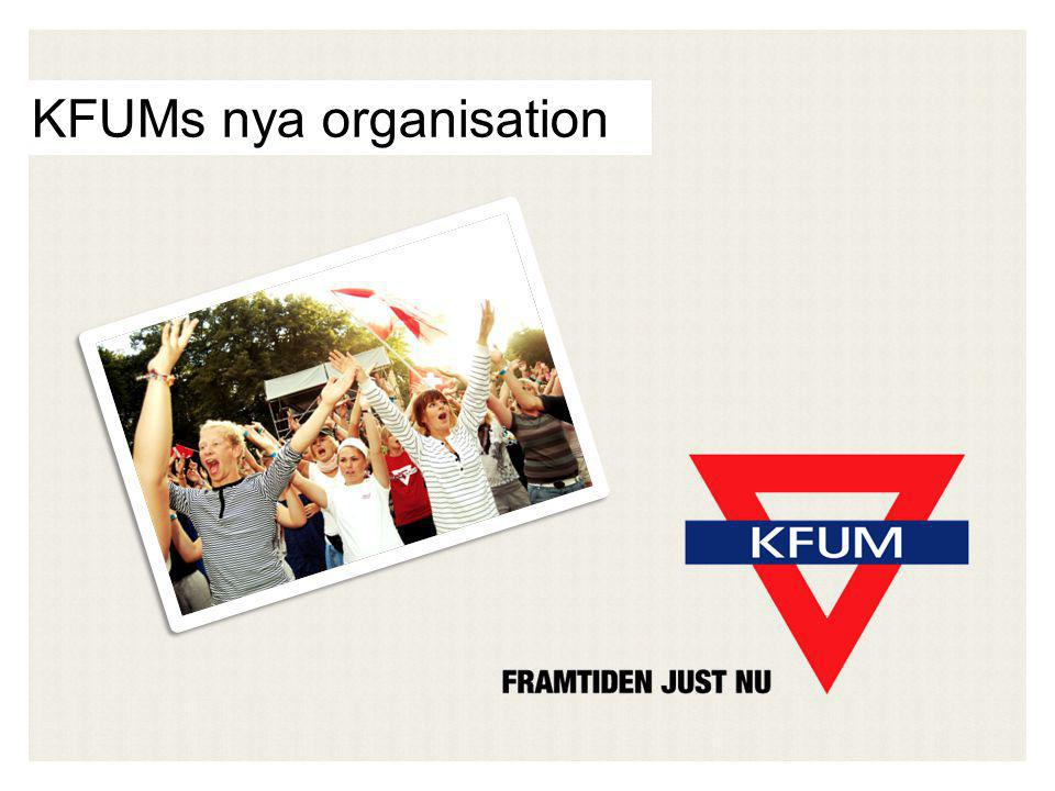 KFUMs nya organisation
