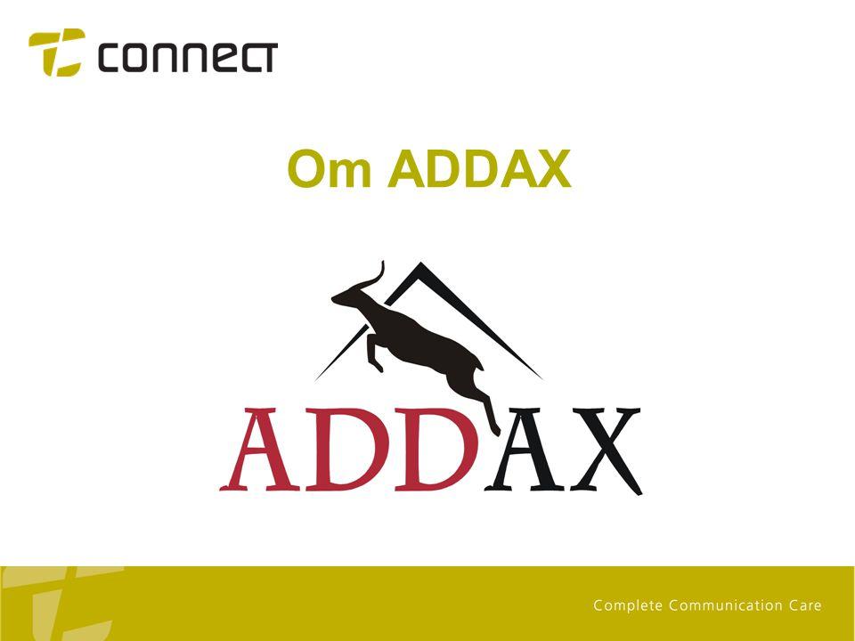 Om ADDAX