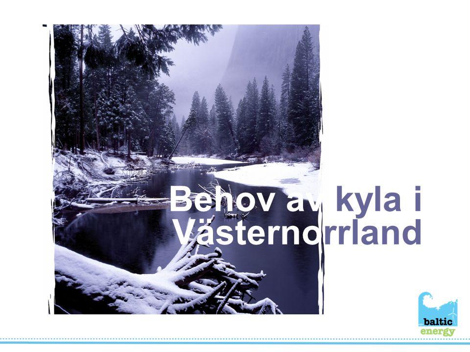 Behov av kyla i Västernorrland
