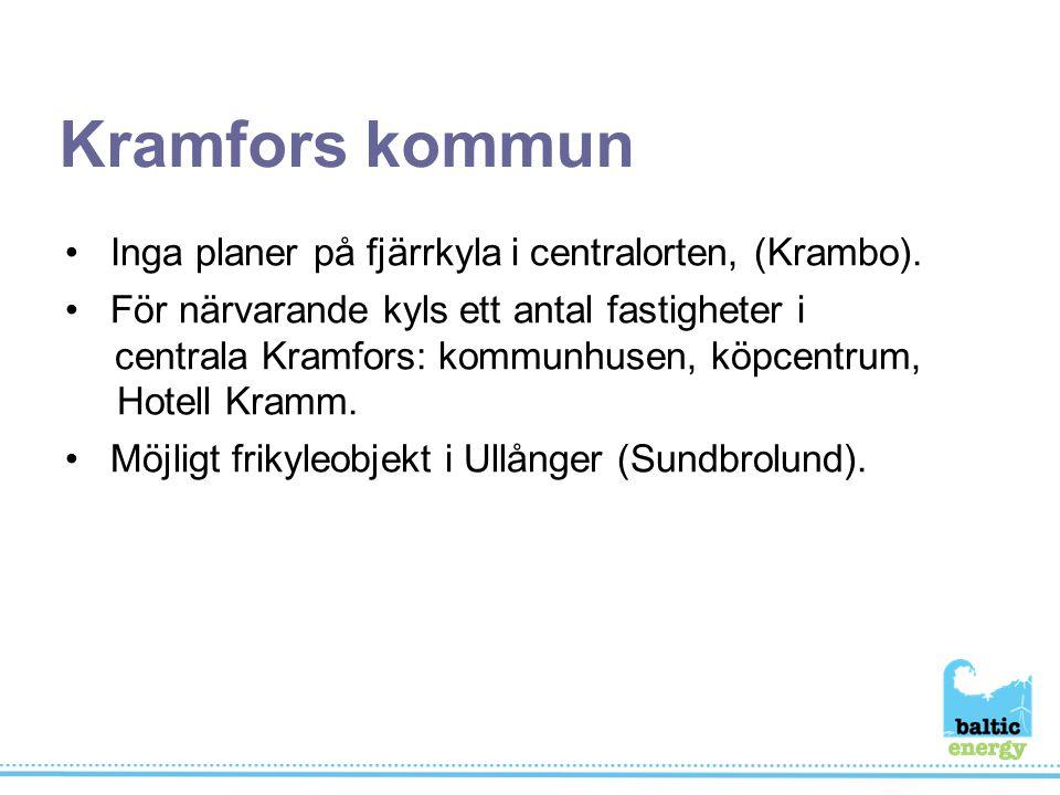 Inga planer på fjärrkyla i centralorten, (Krambo).