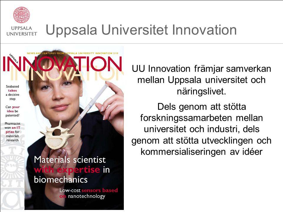 UU Innovation främjar samverkan mellan Uppsala universitet och näringslivet. Dels genom att stötta forskningssamarbeten mellan universitet och industr