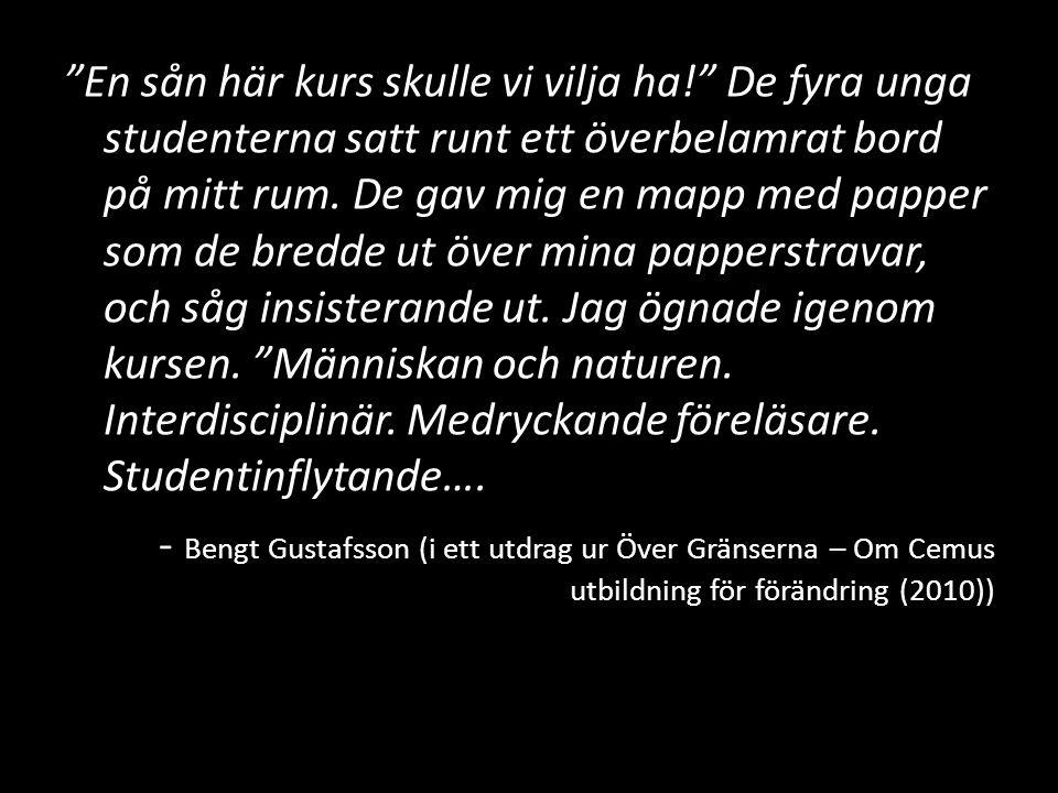 Litteratur Praktisk tvärvetenskap av Gunilla Öberg (2008)