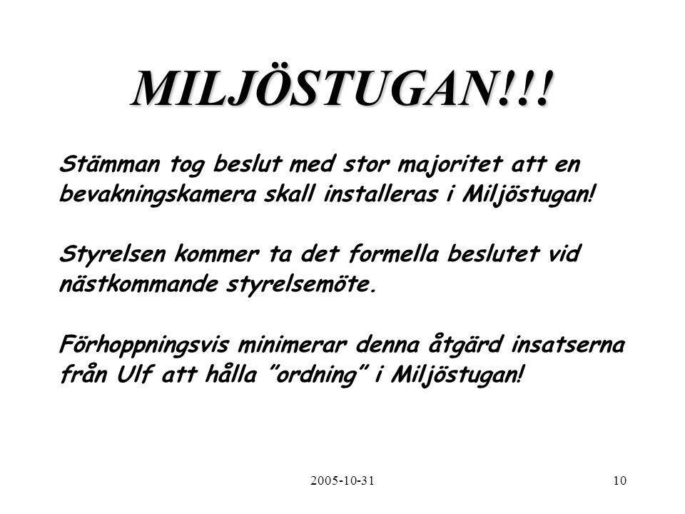 2005-10-3110 MILJÖSTUGAN!!.