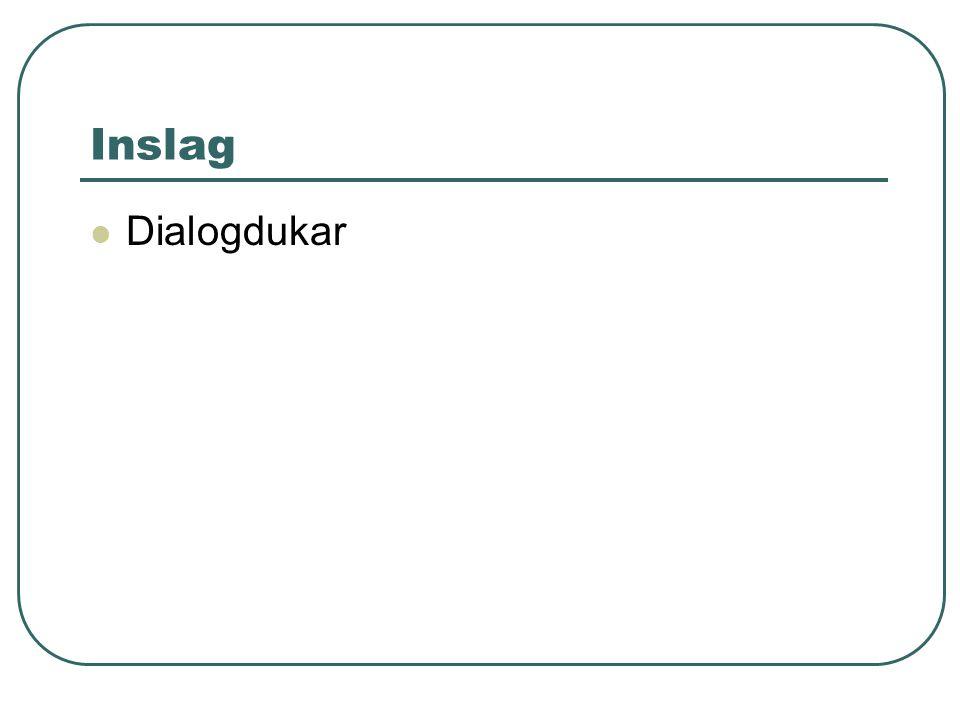 Inslag Dialogdukar