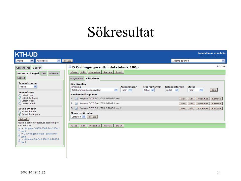 2005-10-19 11:2214 Sökresultat