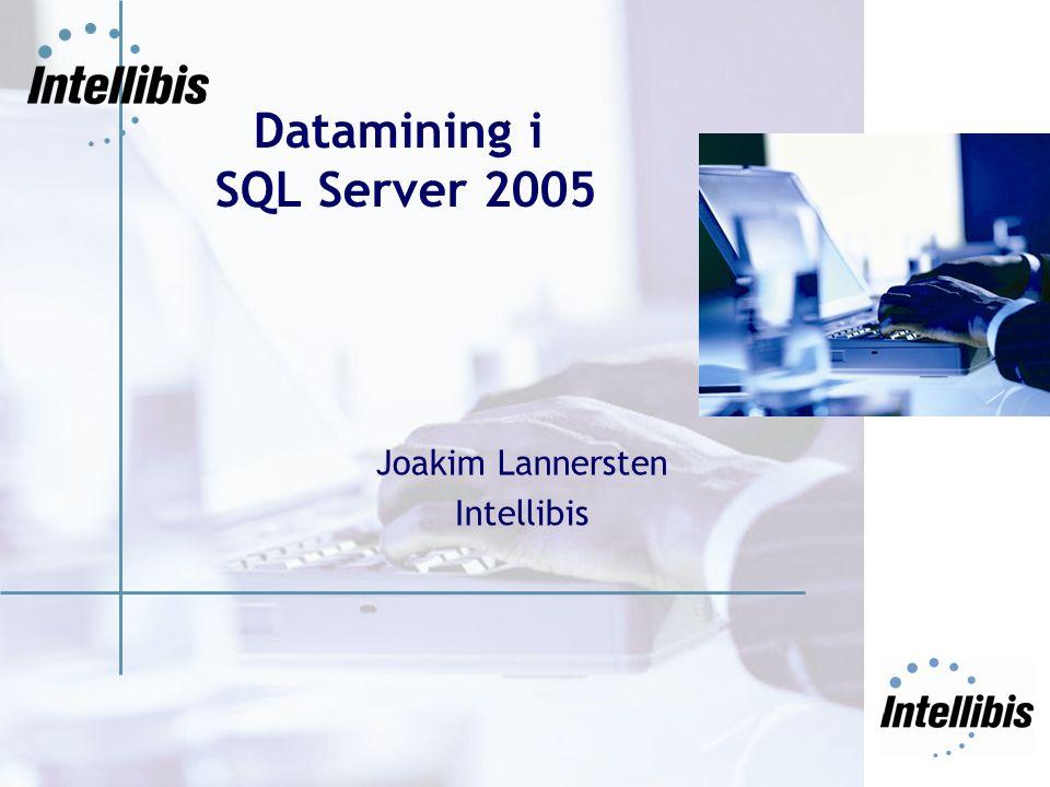 Kort om Intellibis Konsultbolag specialiserat på Business Intelligence Konsulter med teknik- och verksamhetskunnande Grundades 2000 och har nu 65 anställda Stockholm Göteborg Malmö