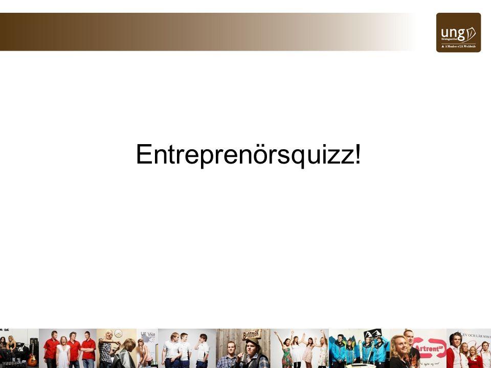 Entreprenörsquizz!