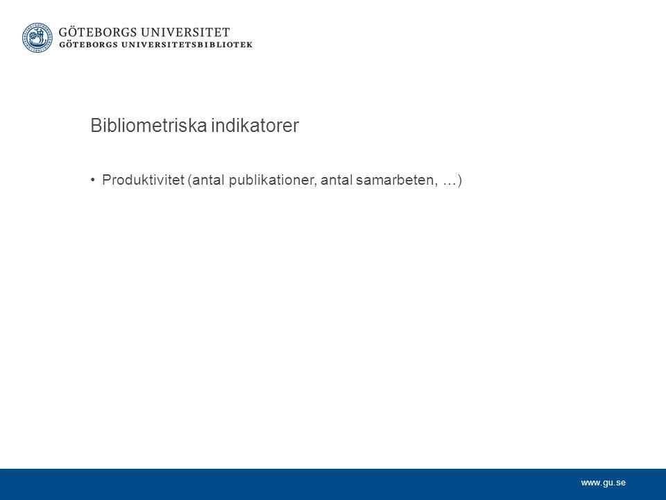 www.gu.se Handels HumITKonstNatSASamUtb NorskaEget – utreder nytt .