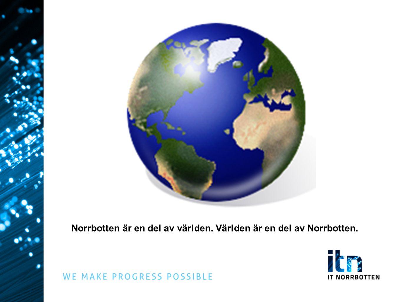 REGERINGENS DIGITALA AGENDA Sverige ska vara ledande vad gäller att använda it för att nå politiska mål för tillväxt i alla delar av landet, social välfärd, demokrati och klimatförbättringar.