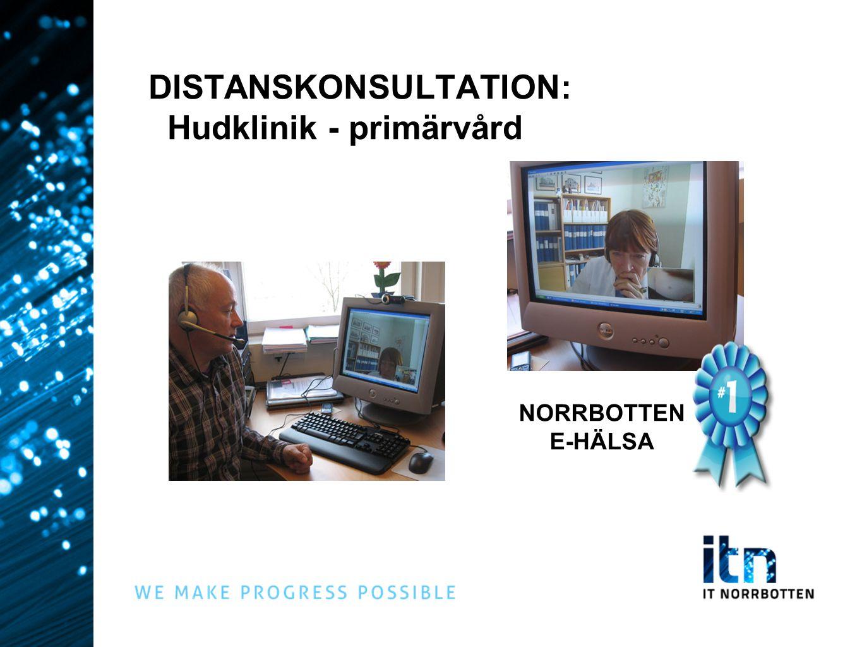 DISTANSKONSULTATION: Hudklinik - primärvård NORRBOTTEN E-HÄLSA