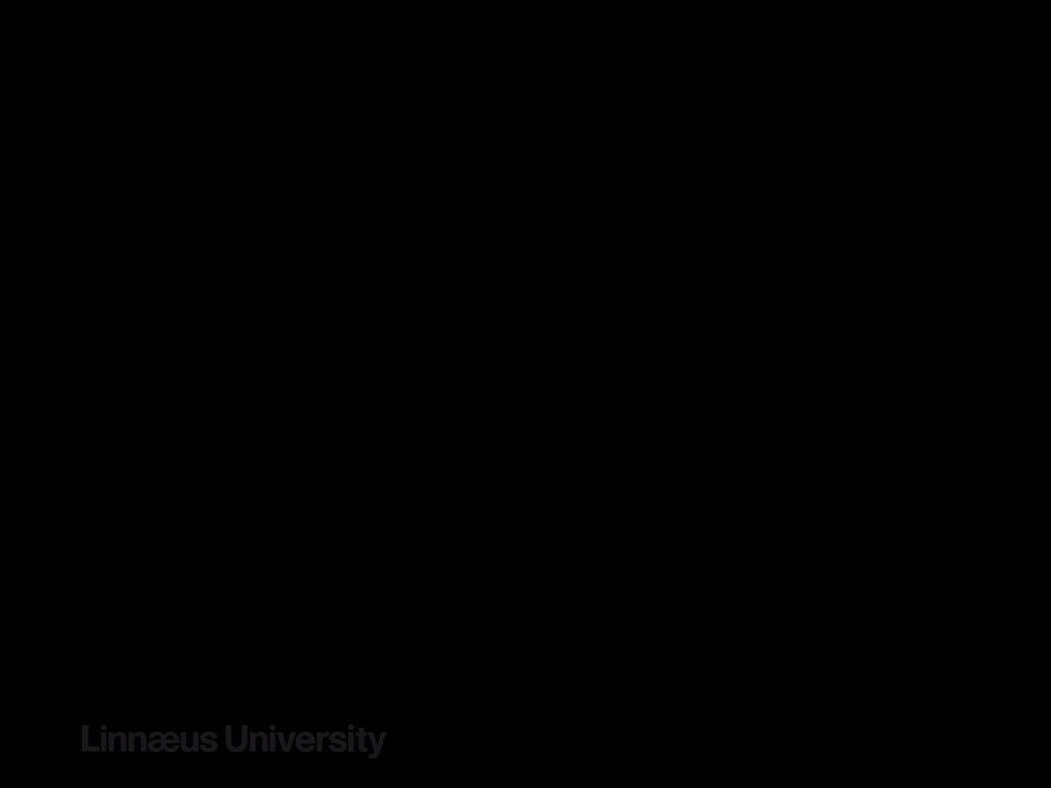 IG 2: Informationslogistik – Statusläge THE TEAM 2 seniora forskare 1 aktiv doktorand 1 doktorand under rekrytering RESURSER 10 MSEK (2 / år * 5) dona