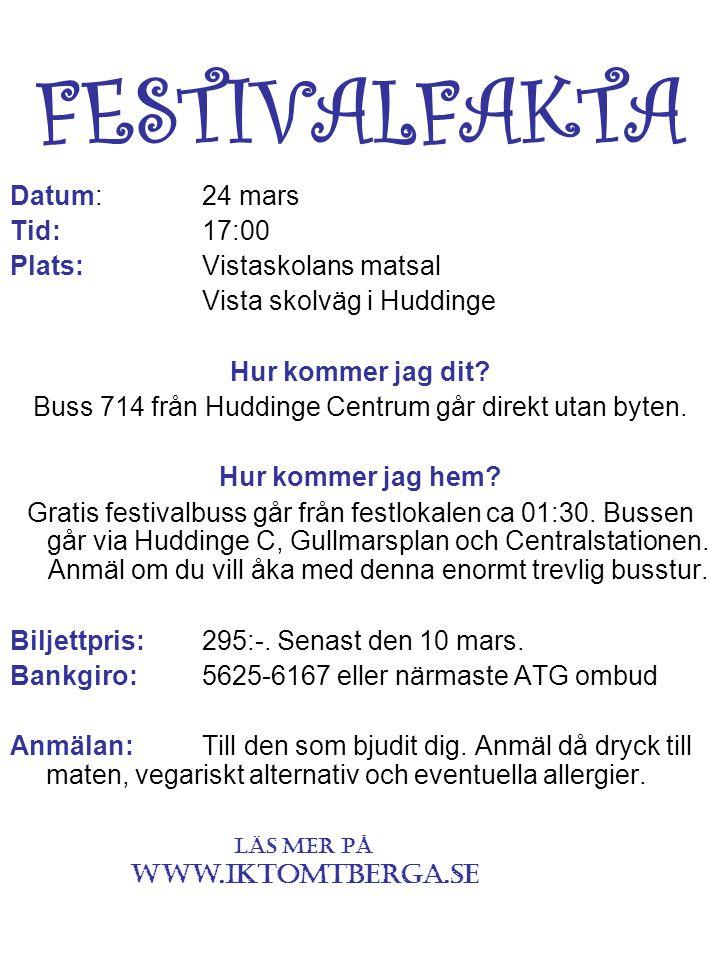 ROCK TOMTBERGA ROCK FESTIVAL IK Tomtberga ROCKS people. Since 1990.