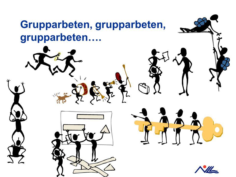 Grupparbeten, grupparbeten, grupparbeten….