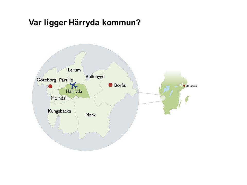 Var ligger Härryda kommun?