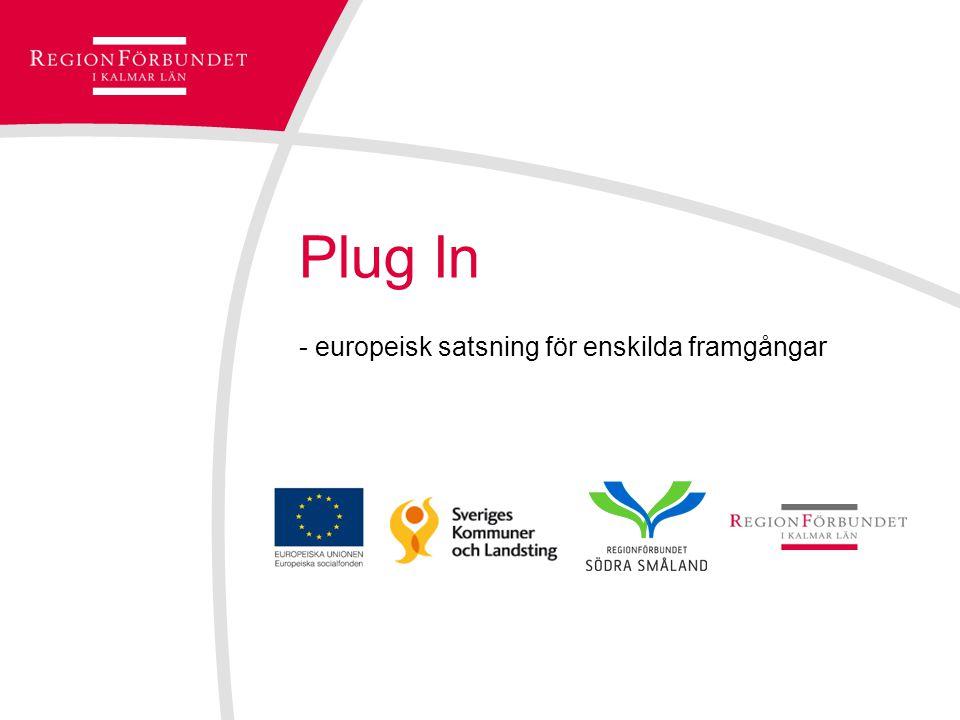 Plug In - europeisk satsning för enskilda framgångar