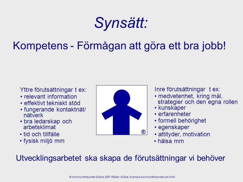 Förbättringar skapas av människor.Alla vill göra ett bra jobb.