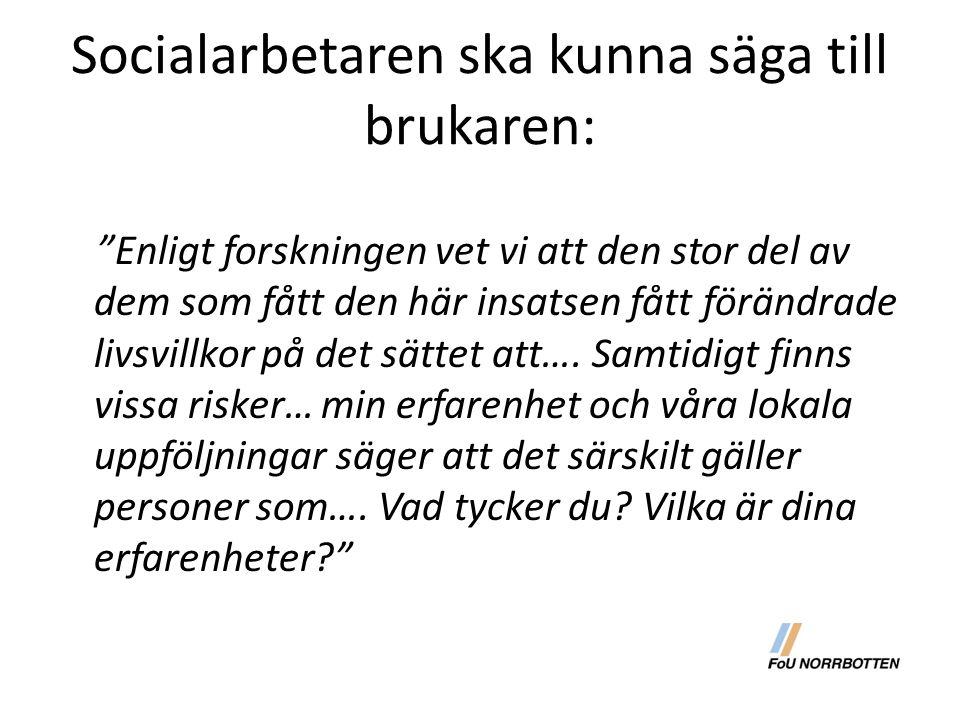 Motstånd till förändring (bla Haglund o Ögård 1995)