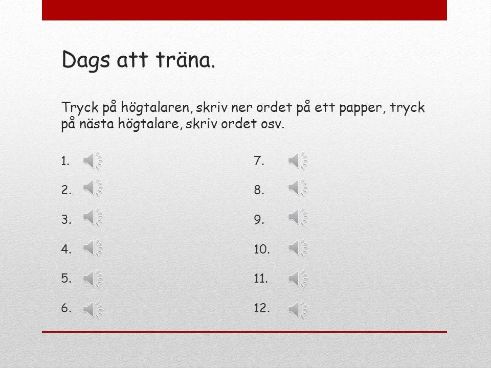 Ng-ljudet i svenska ord Ng-ljudet stavas med ng, med n och med g. Det stavas alltid med g för n, t ex regn, och med n för k, t ex tänk. Sen måste du o
