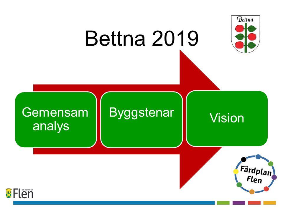 Bettna 2019 Gemensam analys Byggstenar Vision