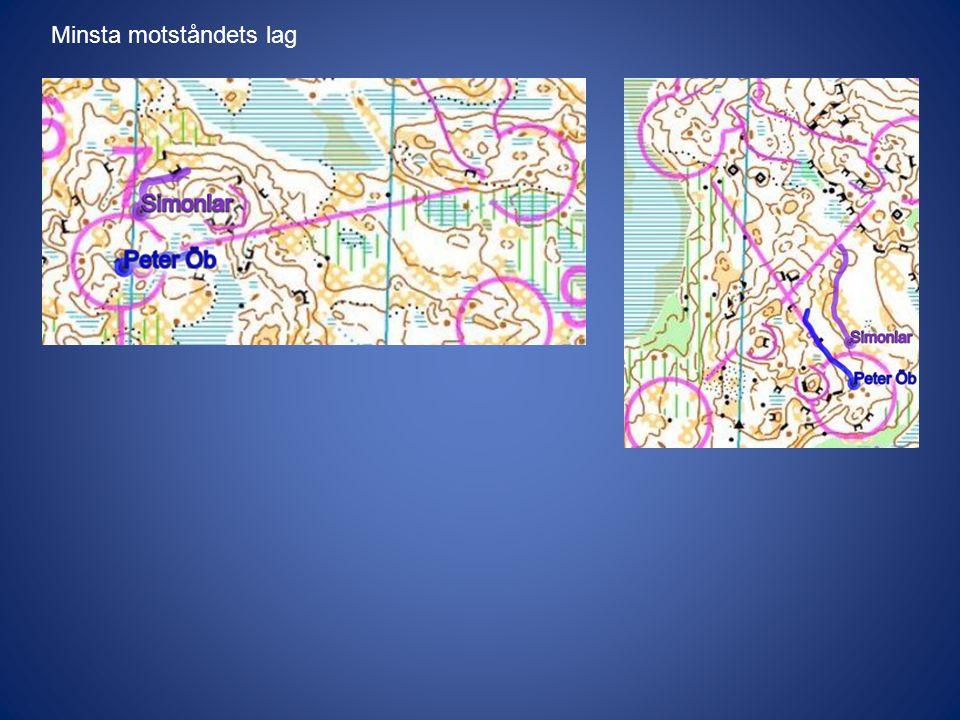 Sikt och framkomlighet Här ligger i originalbildspelet en bild på en karta som inte lämpar sig för publicering på nätet.