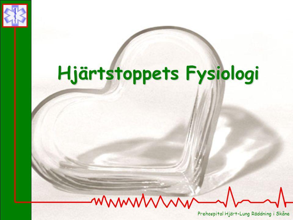 Prehospital Hjärt-Lung Räddning i Skåne Hjärtstoppets Fysiologi