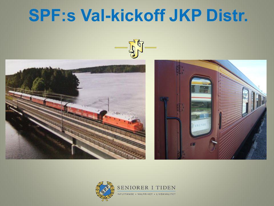 SPF:s Val-kickoff JKP Distr.
