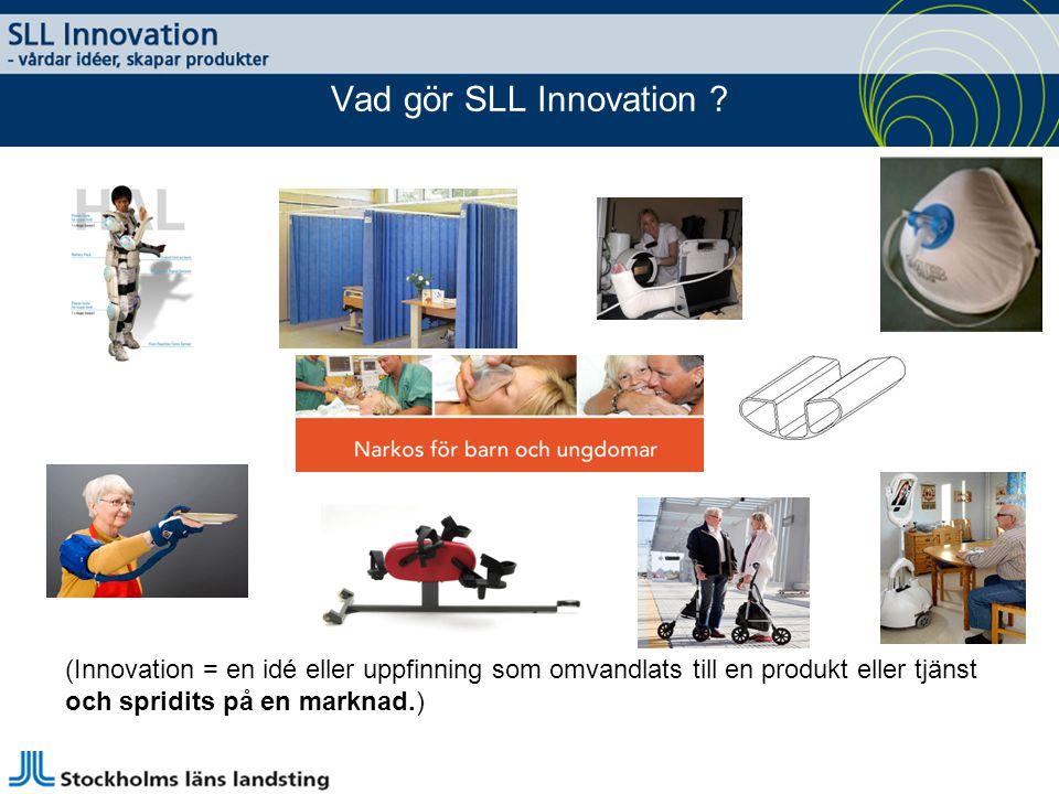 Vad gör SLL Innovation .