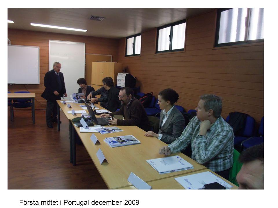 Första mötet i Portugal december 2009