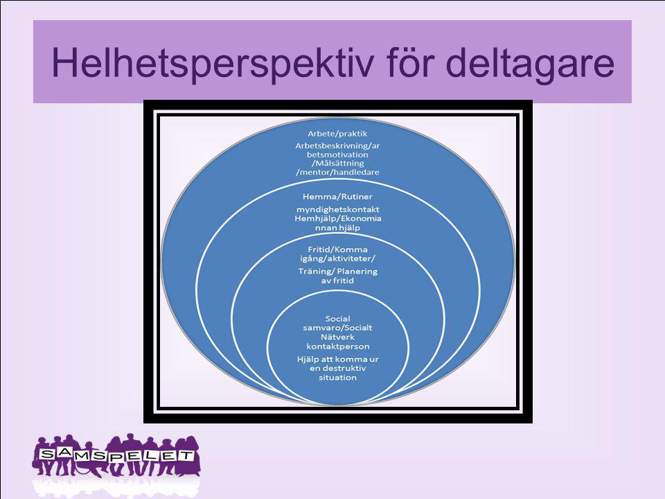 Helhetsperspektiv för deltagare